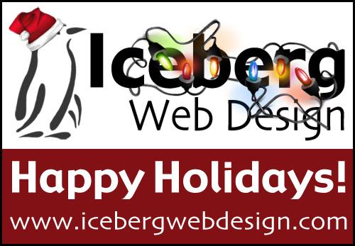 Happy Holidays from Iceberg Web Design! - Iceberg Web Design