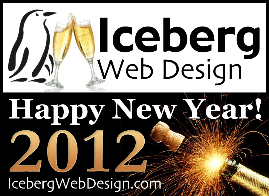 Happy New Year from Iceberg Web Design! - Iceberg Web Design