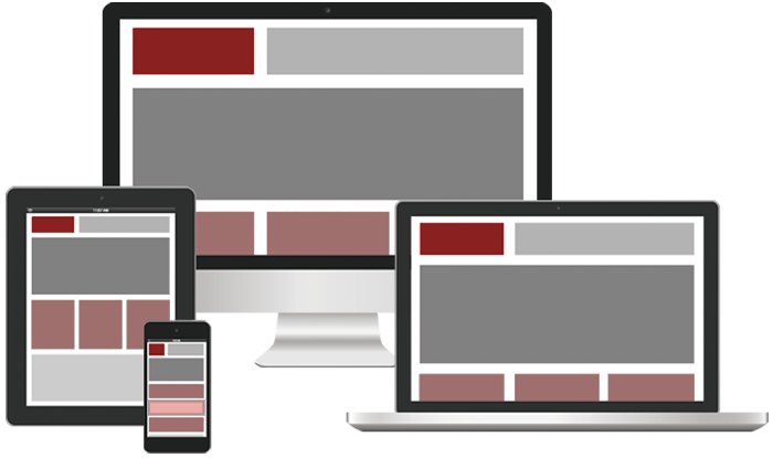 Fully responsive website development