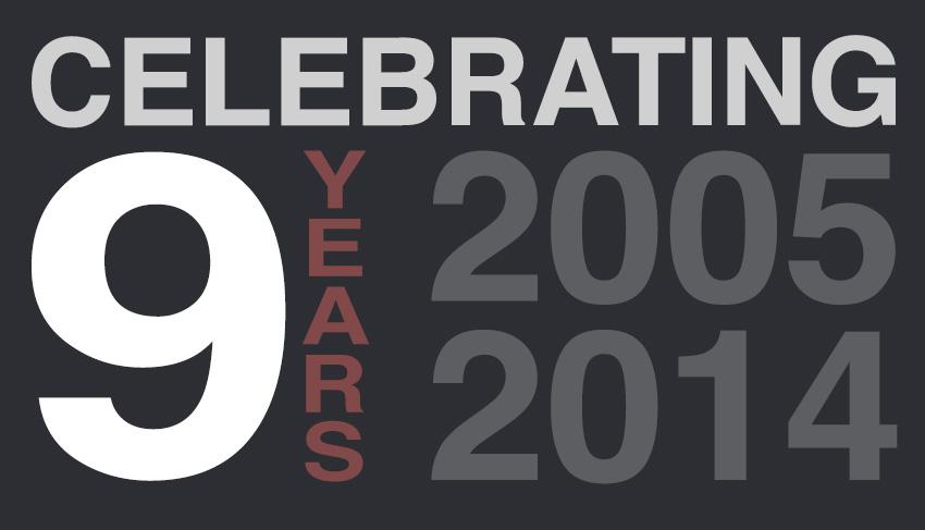 Celebrating 9 Years