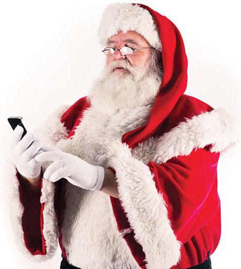 Santa_Smartphone