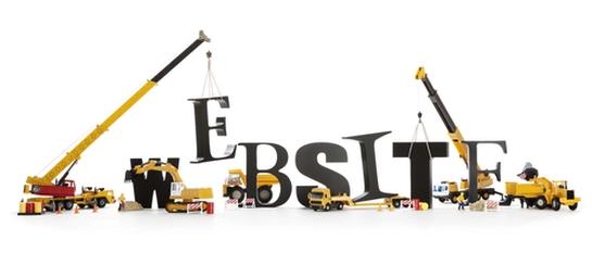 Website development concept