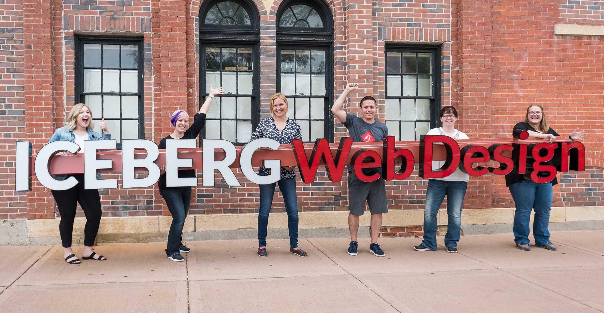 Iceberg Web Design Team