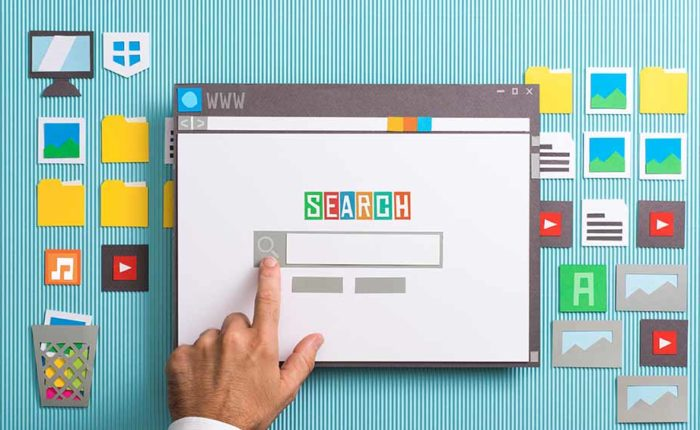 Paper Version of a search engine