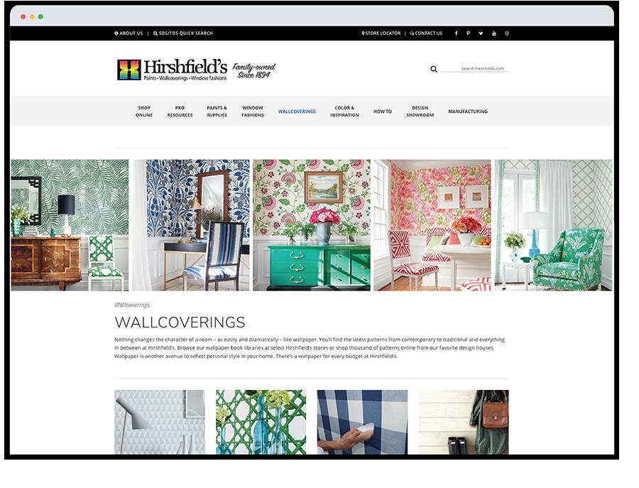 Hirshfields website