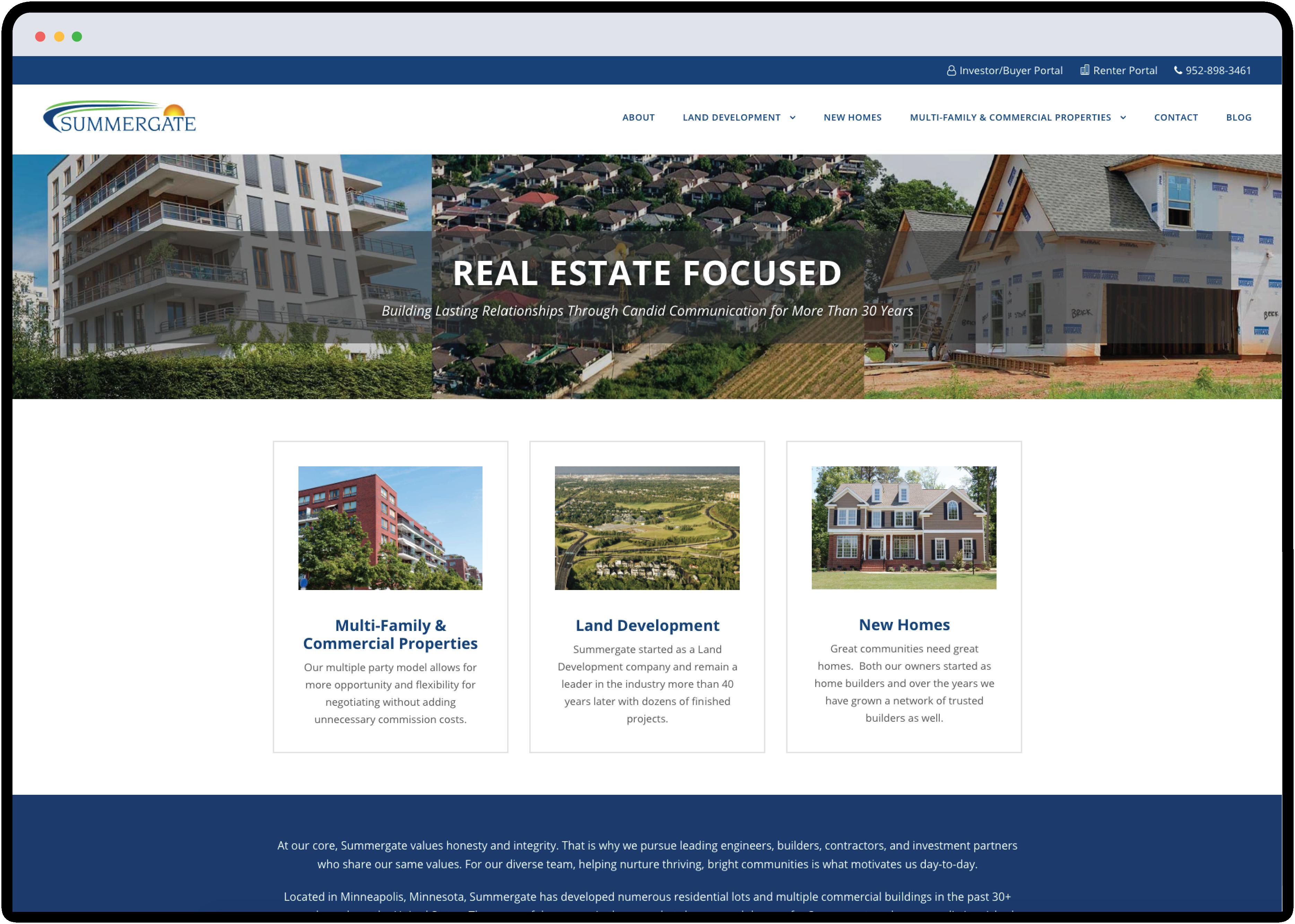 Summergate website