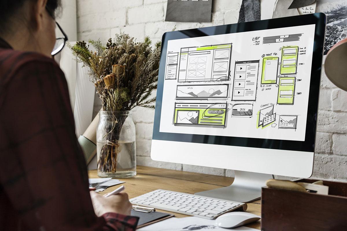 Website Development Layout Concepts