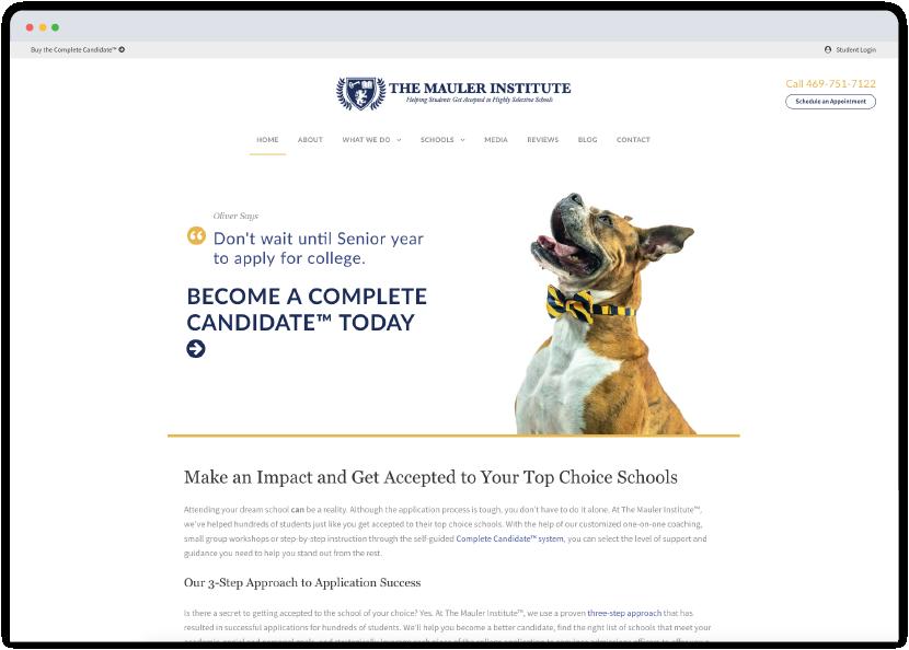 Mauler institute website