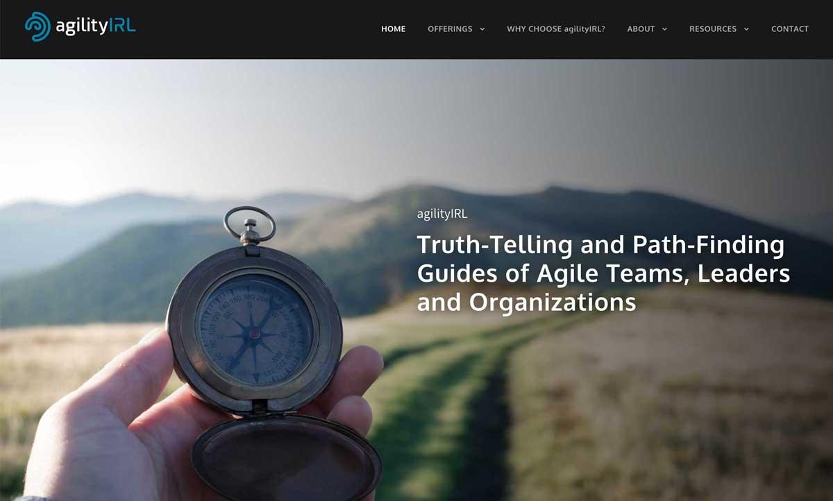 Agilityirl Website