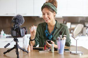 Beauty Blogger Influencer