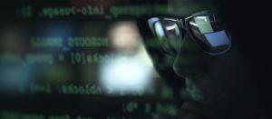 website hacker in sunglasses