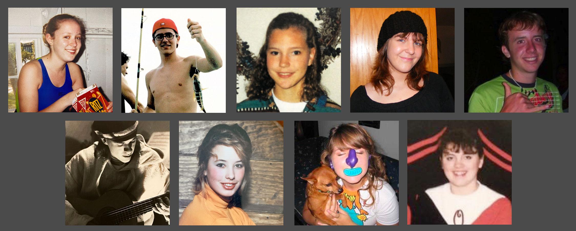 The Iceberg Web Design Team... at age 16!