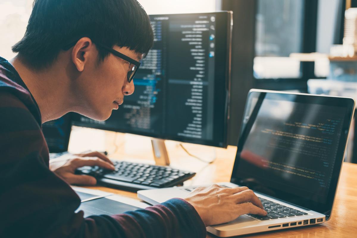 Professional Development Programmer Working In Pro K9g7tqm